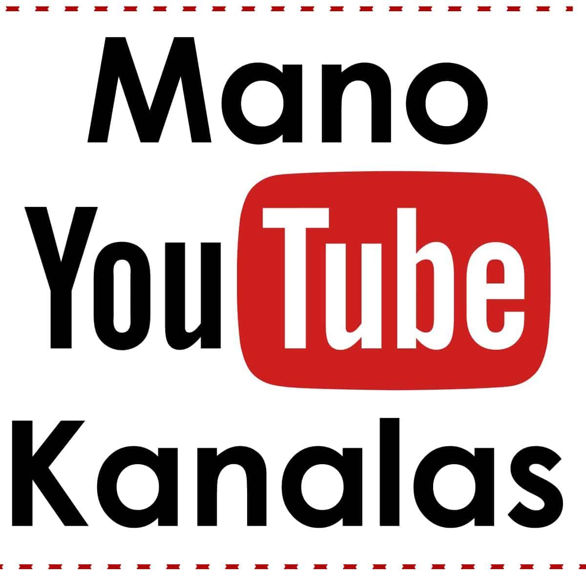 Prenumeruok mano youtube kanalą. Reguliarus video apie verslą, pinigus, marketingą, bei saviugdą.
