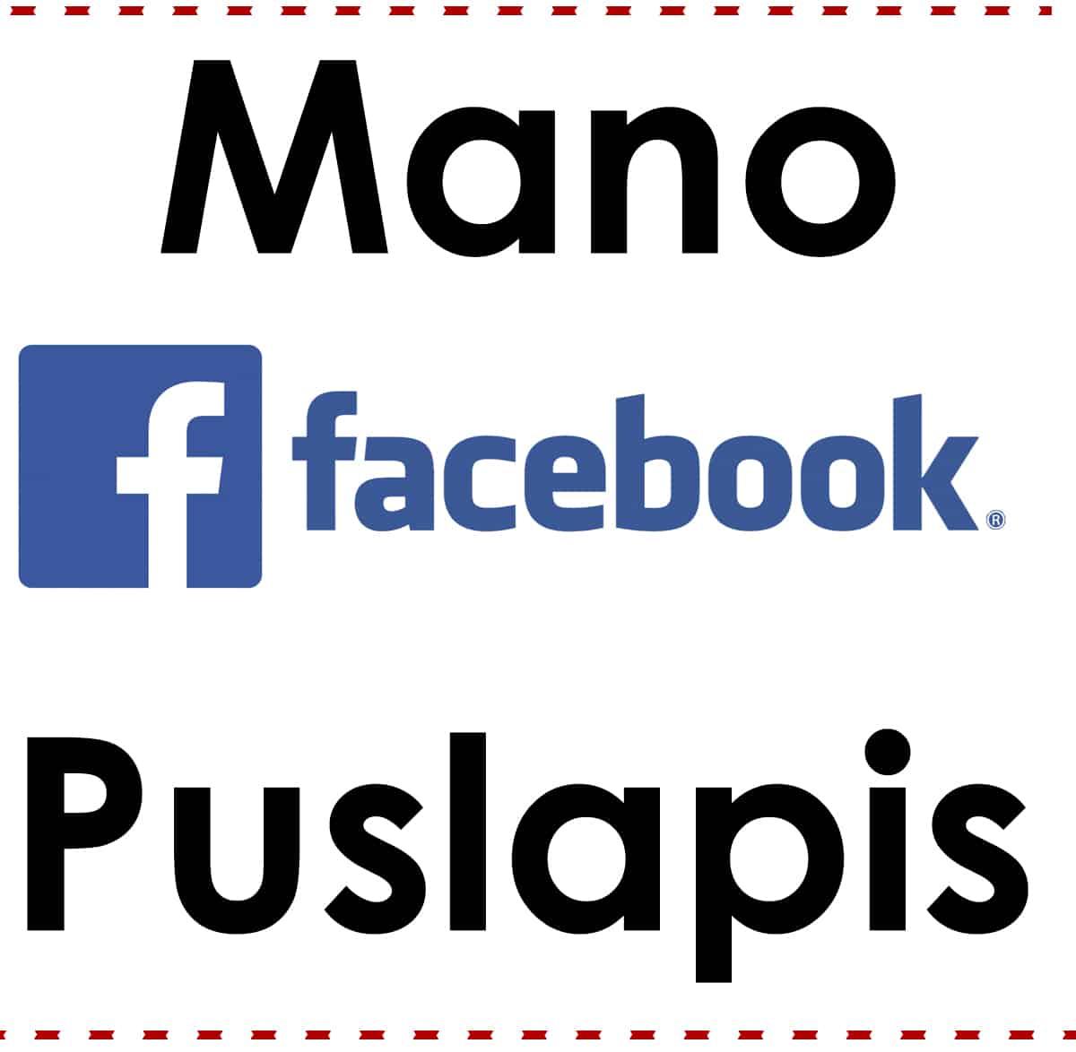 Palaikink sekmes balso facebook puslapį!