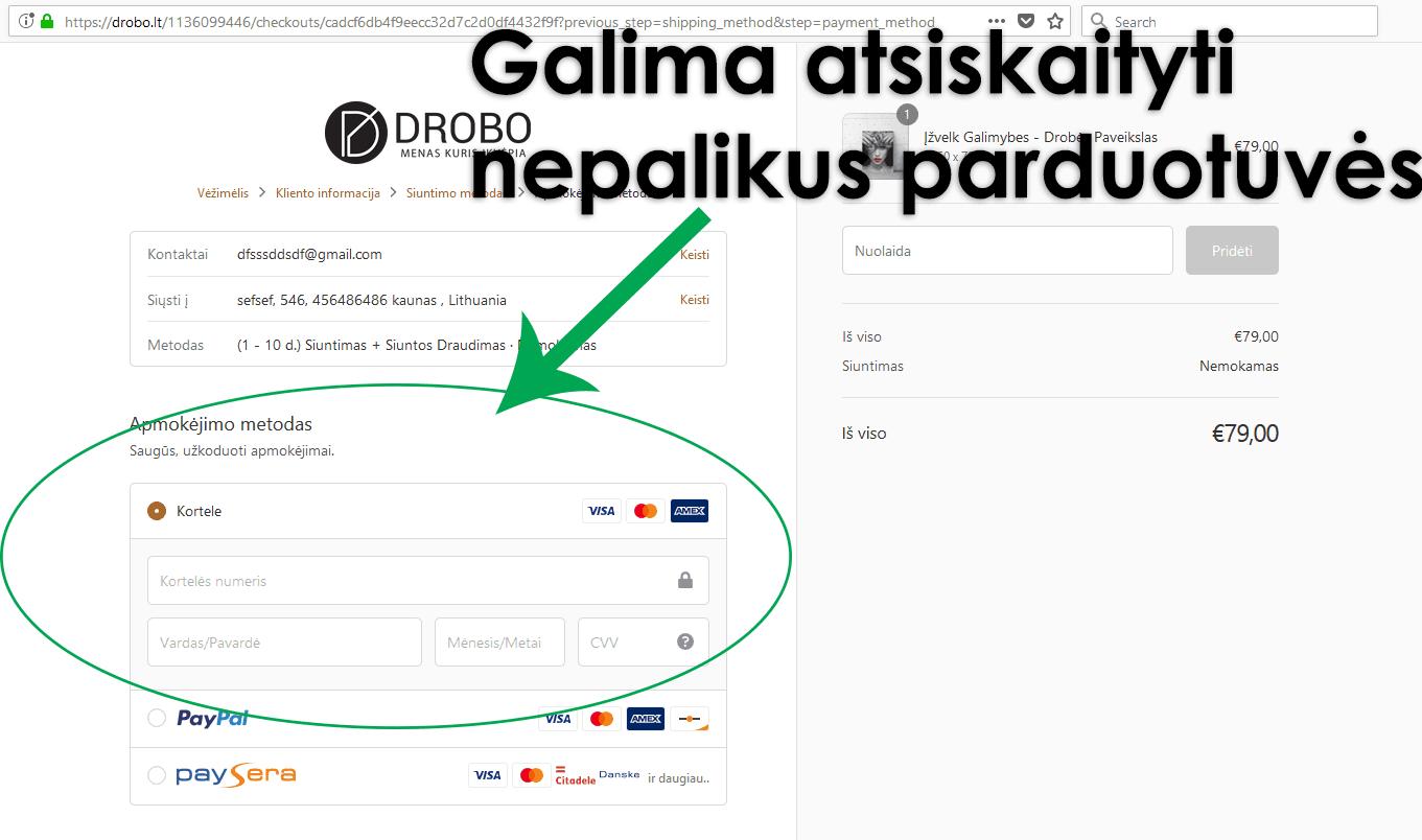 Lengviausias būdas pajungti stripe atsiskaitymą Lietuvoje